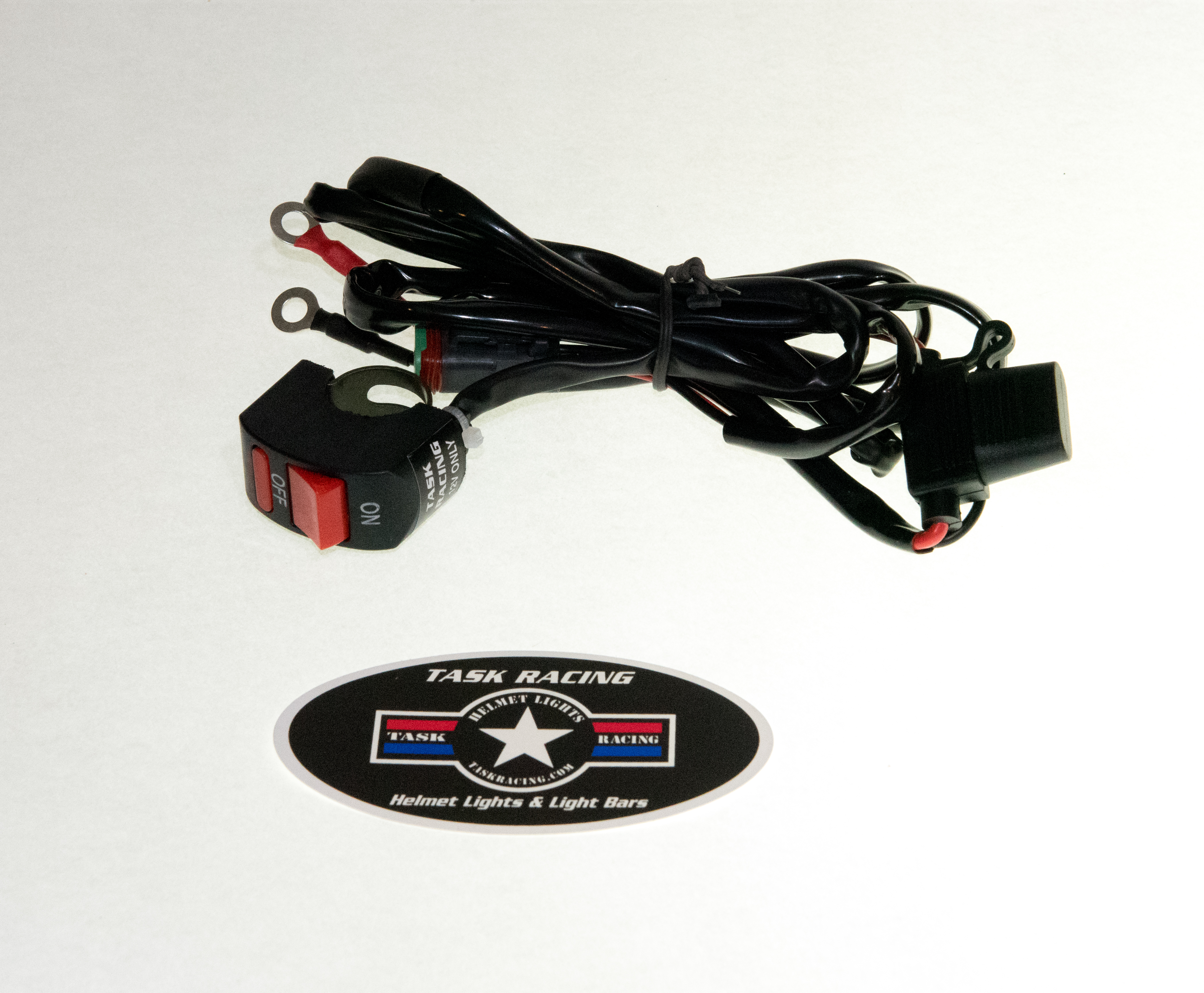 Hardwire Wire Harness for On-Board E-Start Battery System – Task Racing