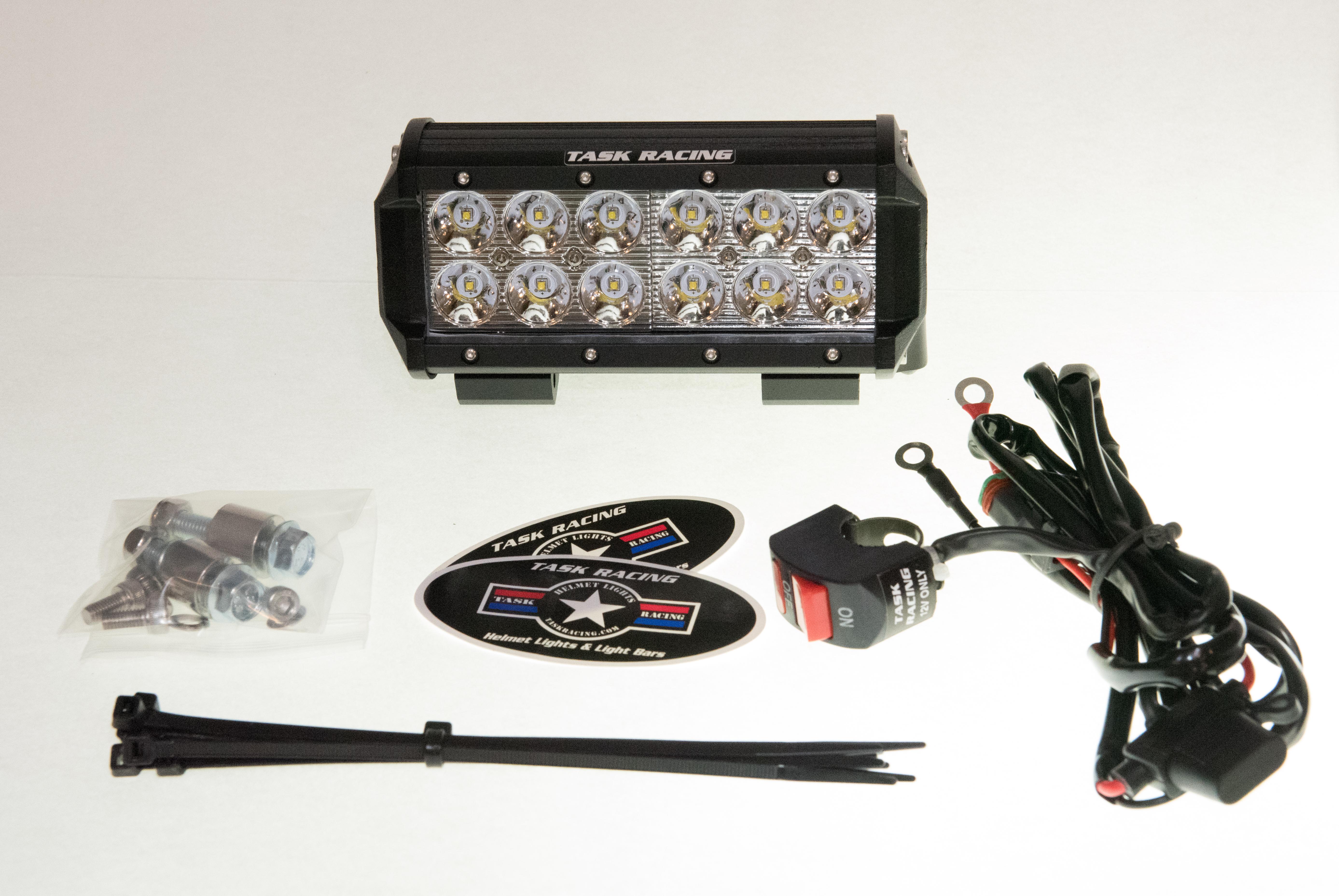 6 hardwire light bar package task racing 6 hardwire light bar package aloadofball Images